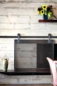 stainless steel fireplace screen stainless steel fabulous modern fireplace screen and best industrial fireplace screens ideas