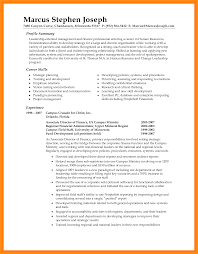Resume Summary Statement Examples Free Resume Example And
