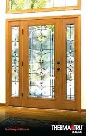 Therma Tru Fiberglass Door Stain Kit Glass Designs