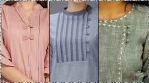 Simple Kurti Neck Designs Images Ethnic Neck Design Easy To Stitch Kurti Neck Design Collection 2019
