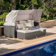 outdoor wicker daybed. Fine Outdoor Quickview In Outdoor Wicker Daybed E