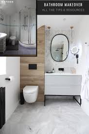 Diana Sieff Interior Design Modern Marble And Wood Bathroom With Black Accents In 2019