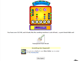 Neopets Alien Vending Machine Cool I Got A Nerkmid On A Random Event Neopets