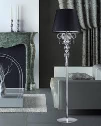 crystal chandelier floor lamp. Image Of: Black Crystal Chandelier Floor Lamp P