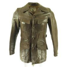 europa leather jacket 70s h46f 1