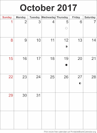 printable calendar october 2017 printable blank calendar org