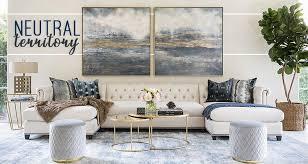 Neutral furniture Child Friendly 1 2 Decoist Modern Contemporary Furniture Modern Home Decor High Fashion Home