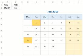 calendar template month free monthly yearly excel calendar template 2019 and beyond