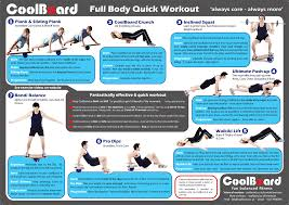 Exercise Wall Chart Free Download Free Workout Wall Chart For Coolboard Balance Board Coolboard