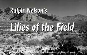 「1963 film 'Lilies of the Field.」の画像検索結果