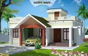 Small Picture 993 sqft 2 Bedroom House Plans in Kerala