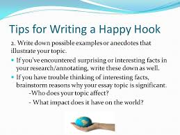 How To Develop A Hook For Essay Writing Ppt Video Online Download