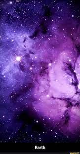 Purple galaxy wallpaper, Iphone ...