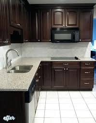 Dark Kitchen Cabinets With Light Granite Inspiration Backsplash For Kitchens With Dark Cabinets Kitchen With Dark