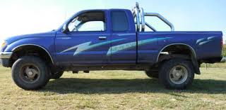 Sell used 1996 Purple Toyota Tacoma 4X4 Extended Cab 2.7 4 Cylinder ...