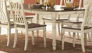 chair distressed dining table set antique white dining chairs