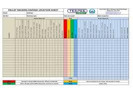 inspection sheet inspection sheet