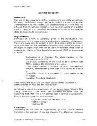 Definition Essay Examples Love Types Of Essays With Examples Descriptive Essay About Love
