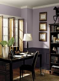 office color schemes. Purple Home Office Ideas - Striking Modern Paint Color Schemes E