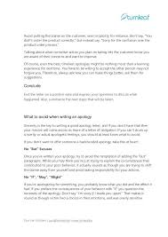 Business Apology Letter For Poor Customer Service 10 Tips For Writing A Corporate Apology Letter Writing