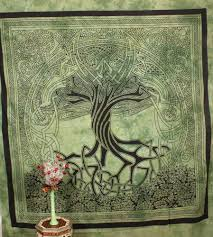 celtic tapestry indian wall hanging spirit of tree college