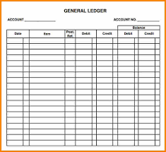 accounting ledger template 7 financial ledger template excel ledger page