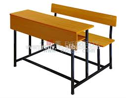 wooden school desk and chair. Double Seats School Desk With Bench,Attached Desks And Chair Wooden C