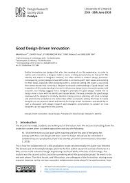 Roberto Verganti Design Driven Innovation Pdf Pdf Good Design Driven Innovation