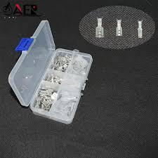 <b>120pcs</b> 60pair <b>2.8</b>/<b>4.8</b>/<b>6.3</b>mm Wire Connectors Crimp Terminals ...