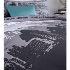 catherine lansfield city scape duvet cover set multi