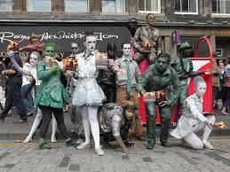 edinburgh fringe festival box office. Babolin Theatre Actors Publicise Their Show Sentinels At Edinburgh Fringe © Stephen Finn / Shutterstock Festival Box Office