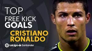 BEST FREE KICK GOALS Cristiano Ronaldo ...