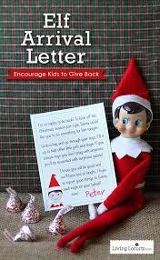 Elf on Shelf Printable Wel e Letter Living Locurto