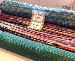 woven rag rug instructions runners loom