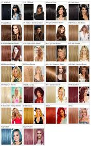 Lace Front Color Chart