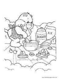 Small Picture care bears coloring pages to print Free printable care bear 09