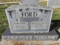 Clyde Anton Ford (1900-1968) - Find A Grave Memorial