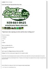 lawncare ad craigslist for your lawn care business lawncarebusinesstips com