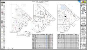 L Plan Lighting Design Electrical Plans Architechknowlogy Design Group