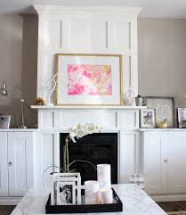 White Cabinets Living Room Living Room Built Ins Around An Electric Fireplace A Purdy