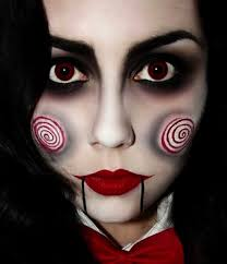 saw doll makeup for halloween