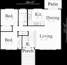 split level house plans small house plans