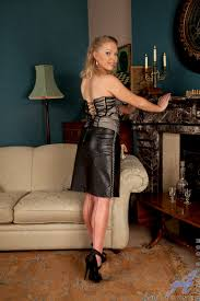 Leather skirt tight fetish movies