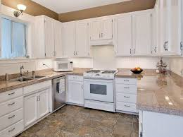 Small Picture Traditional Kitchen with U shaped Large Ceramic Tile in Seattle