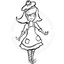 Elf Coloring Pages Girl Page Sheets Wiegraefeco