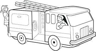 Fire Truck Coloring Sheets Download Free Printable And Coloring