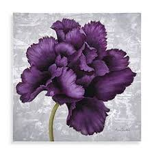 the plum colored flower of this canvas wall art will add a nice touch of on plum flower canvas wall art with floral whispers canvas wall art set whisper canvases and floral