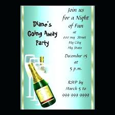 Free Going Away Party Invitations Party Invitation Free Format Download Blogofwow Info