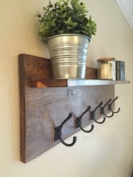 Mission Style Wall Coat Rack Entryway Hooks And Shelves Best Wall Coat Rack Ideas On Inside 84