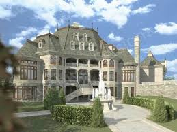 french chateau house plans. Chateau Novella House Plan - Rear Style Archival Designs French Plans